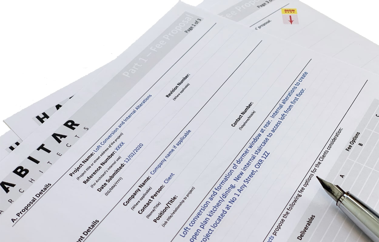 fee proposal image